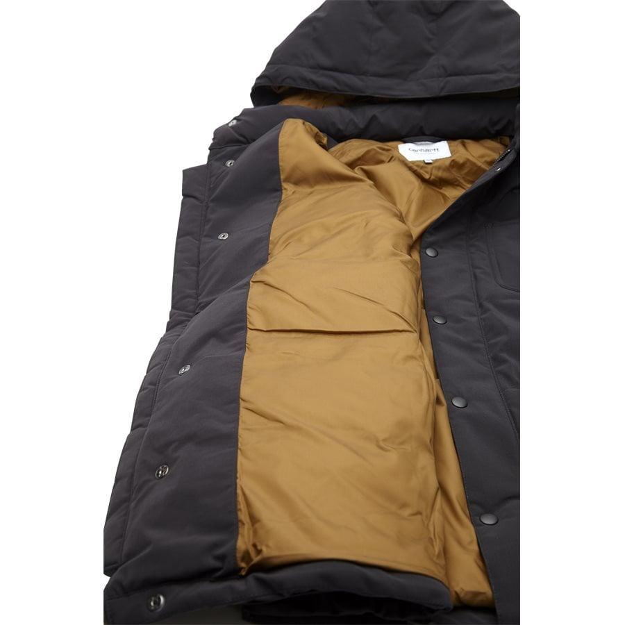 ALPINE COAT I023081 - Alpine Coat - Jakker - Regular - BLK/HAM. BROWN - 6